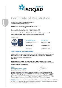 CERT ISO9001